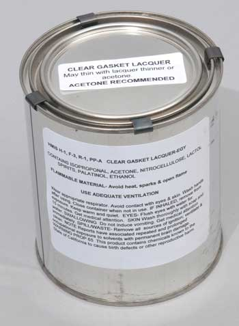 Gasket Lacquer Finish