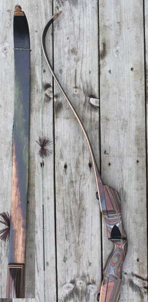 Hill Country Wildcat Static Recurve 60inch 46lb Left Hand