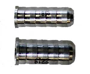 Aluminum RPS Shaft Inserts